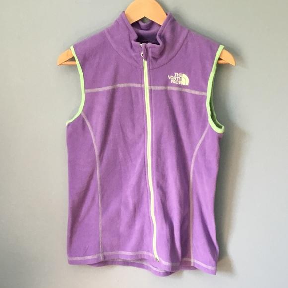 c12f82922 The North Face Lightweight Purple Fleece Vest